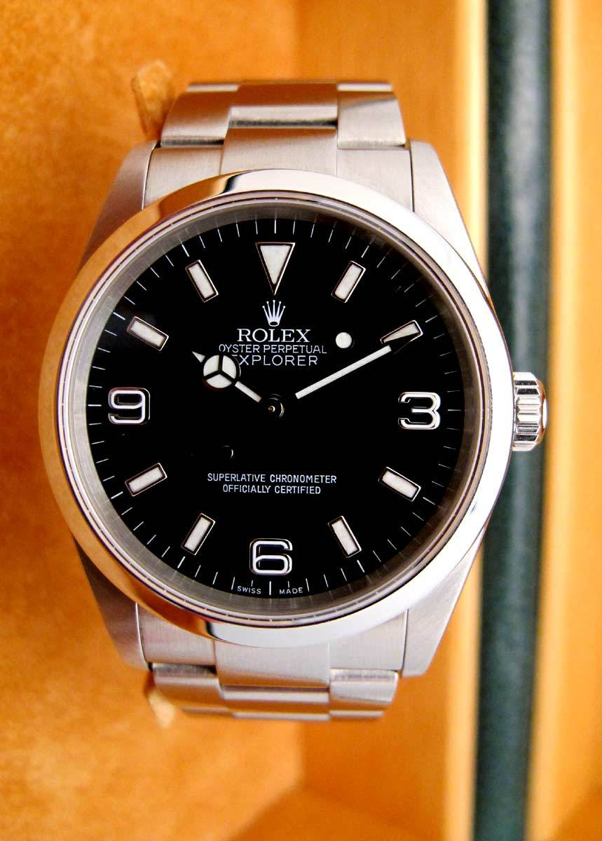 ROLEX Explorer I - Full set .