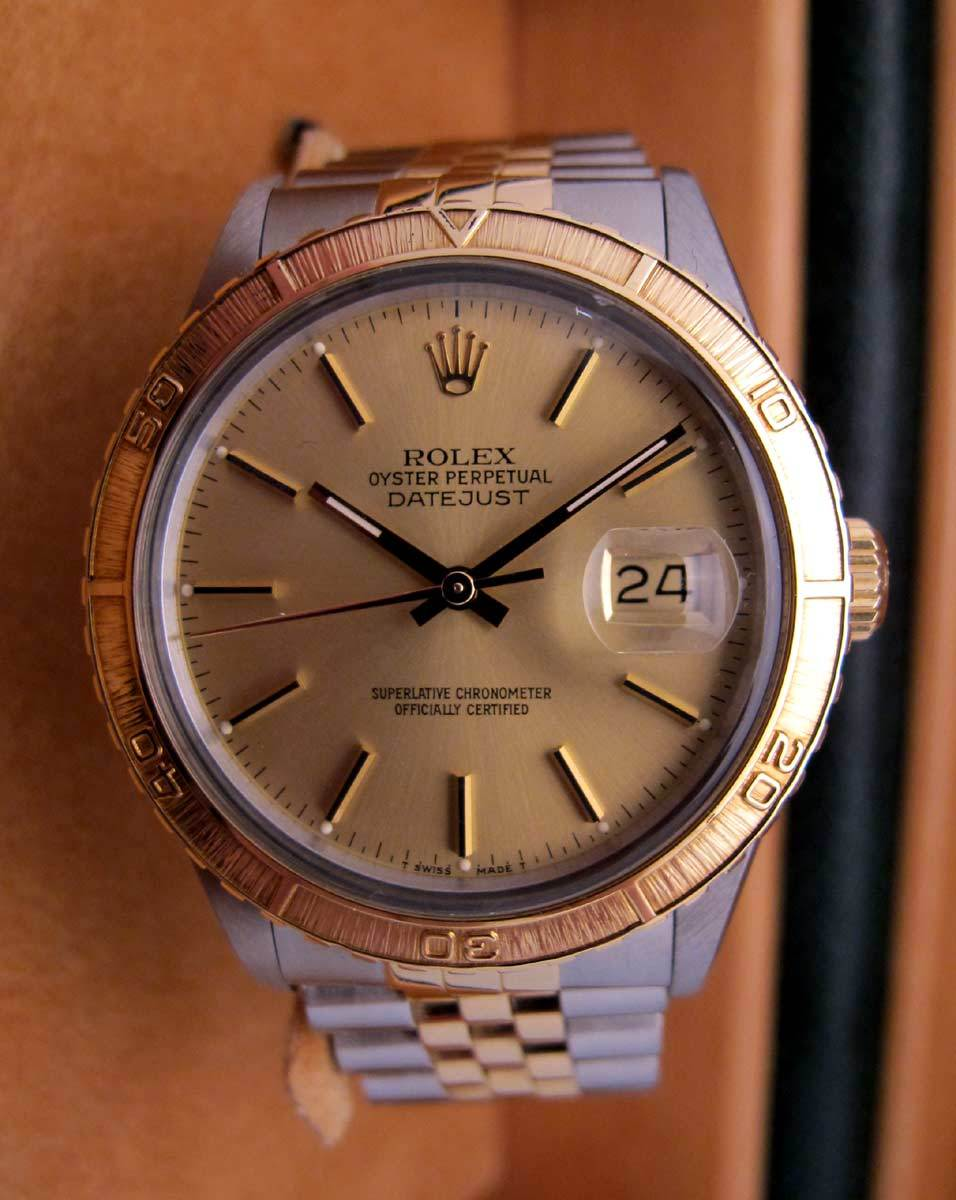 ROLEX Datejust Turn'ograph Or/Acier -