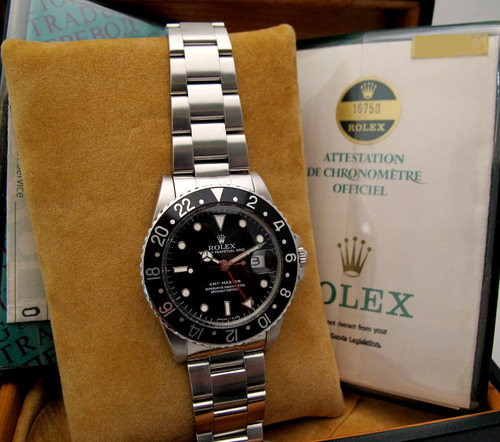 ROLEX Gmt Master Coke Transition -