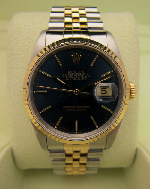 ROLEX Oyster Perpetual DATEJUST Or/Acier -