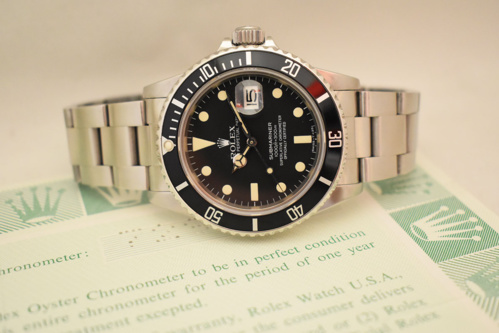 ROLEX Submariner Date transition 16800 Full Set.