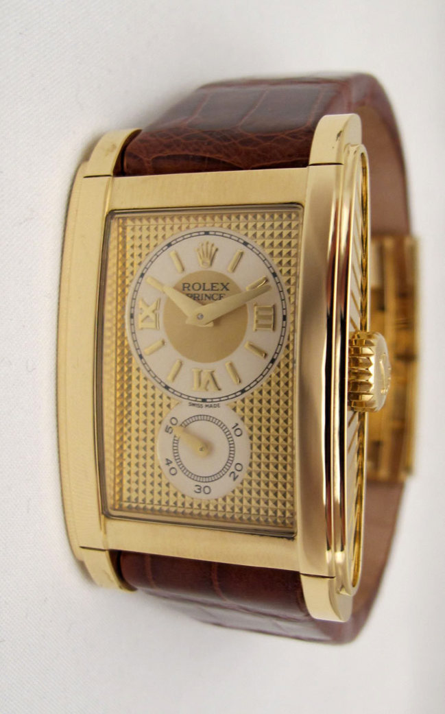 "ROLEX Cellini "" Prince "" Or Jaune -"