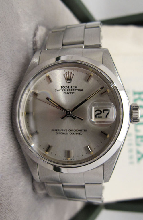 ROLEX Oyster Perpetual DATE NOS -