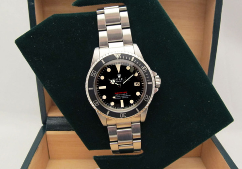 ROLEX Submariner date 1680 Rouge Meters First -