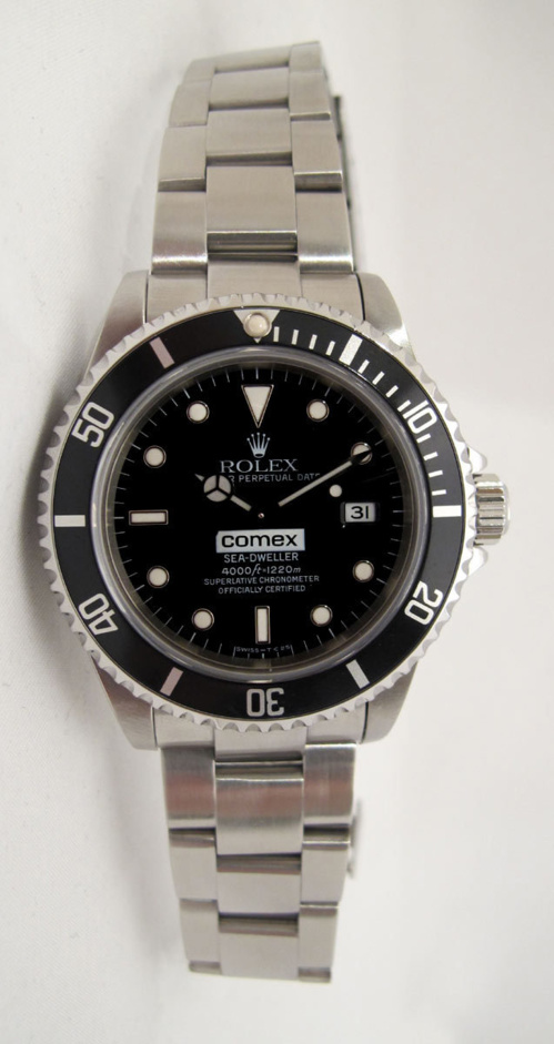 ROLEX Sea-Dweller 16600 COMEX - Full Set.