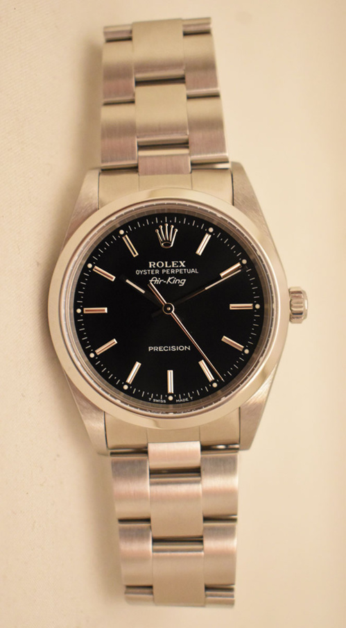ROLEX Air-KING Precision 34MM - Full Set - Année 1999.