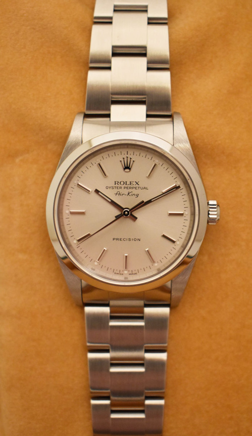 ROLEX Air-KING Precision 34MM - Full Set - Année 2000.