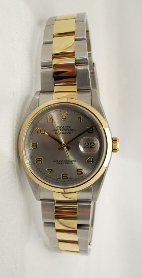 ROLEX Oyster Perpetual DATEJUST Or Rose / Acier -