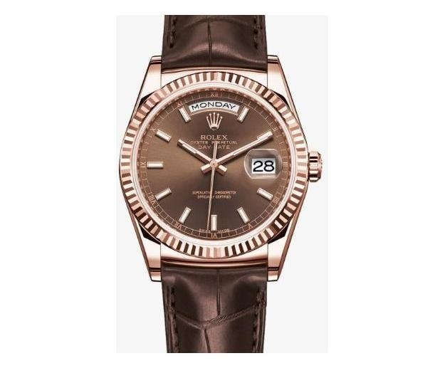 DAY-DATE Chocolate 118138