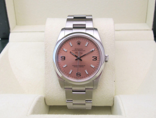 ROLEX Oyster Perpetual Air-King cadran rose -