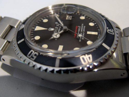ROLEX Submariner Date 1680 Rouge Meters First Tropical -