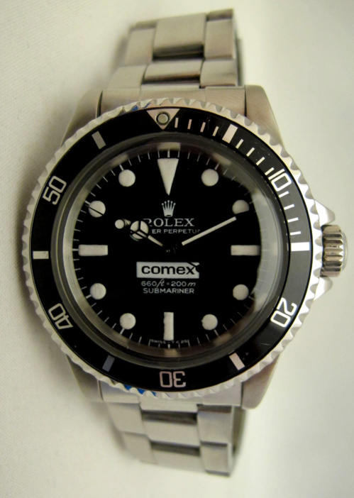 ROLEX Submariner 5514 COMEX Big Number -