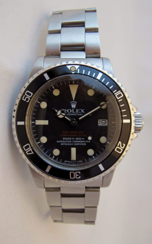 ROLEX Sea-Dweller Double rouge Mark III -