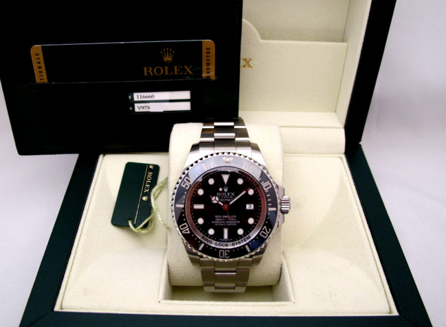 ROLEX Sea-Dweller DEEPSEA 116660 -