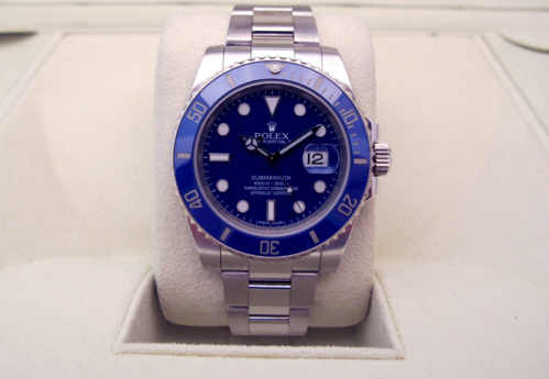 32bb6c6870b ROLEX Submariner Date Tout or blanc 18K -