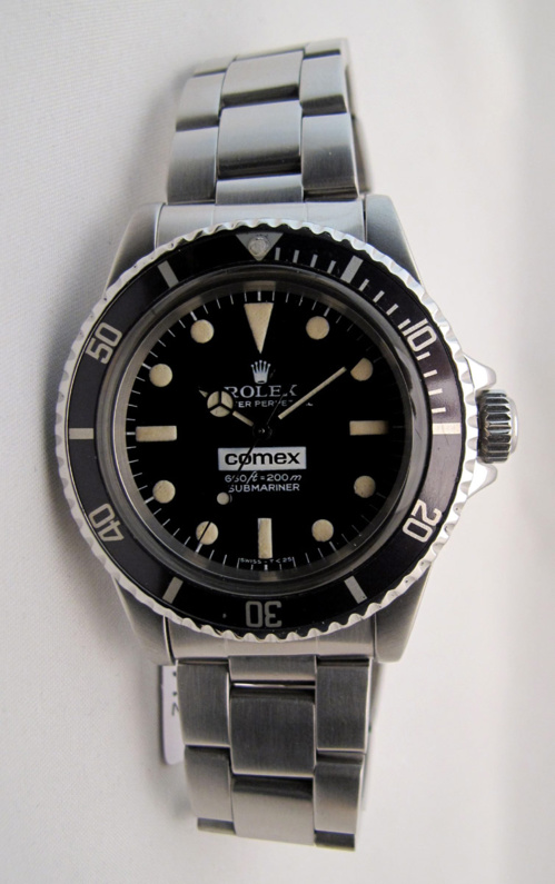 ROLEX Submariner 5514 COMEX - Big Number -