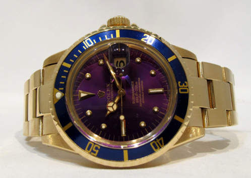 "ROLEX Submariner 1680 Or "" Purple "" -"
