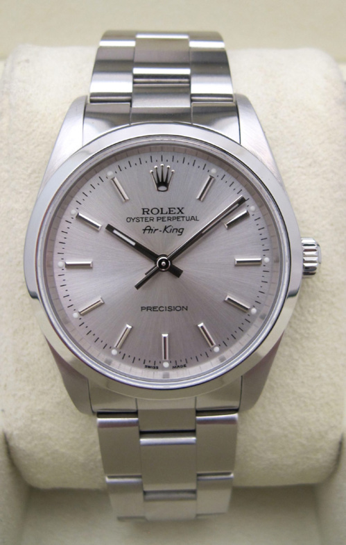 ROLEX Air-King - Cadran Gris -
