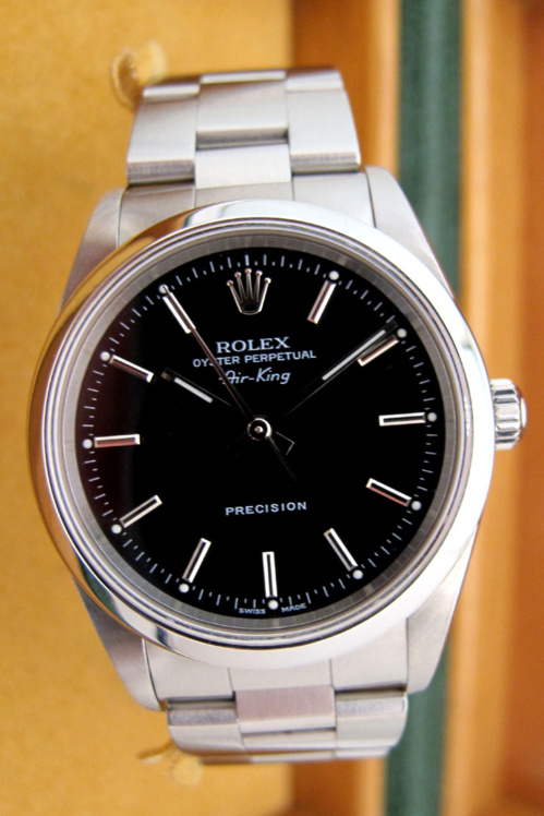 ROLEX Air-King - Cadran Noir -