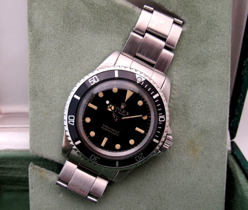 ROLEX Submariner 5513 Gilt -