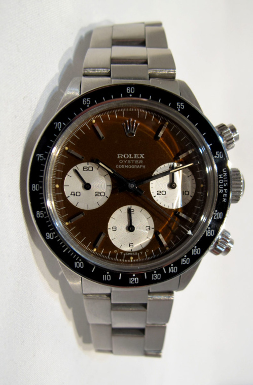 ROLEX Cosmograph DAYTONA 6263 Brown Dial - 20/20.