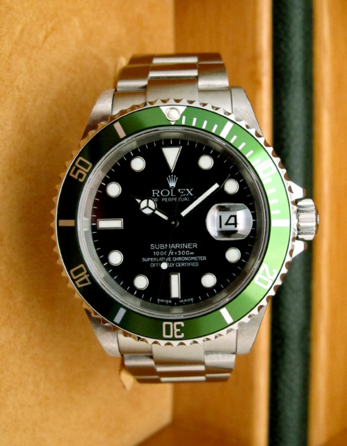 ROLEX Submariner Verte Fat Four MARK I -