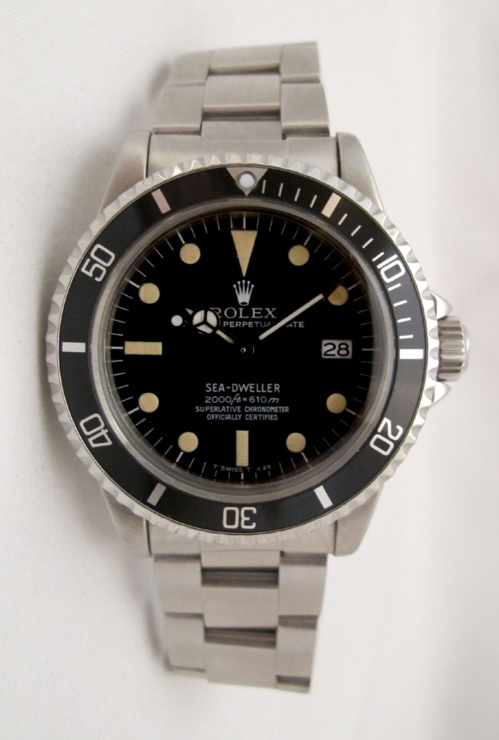 ROLEX Sea-Dweller 1665 Rail Dial -