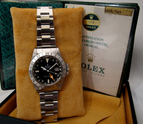 ROLEX Explorer II 1655 Full Set -