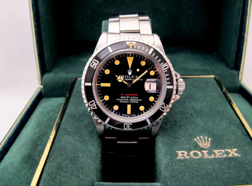 ROLEX Submariner Date 1680 Rouge Mark IV.