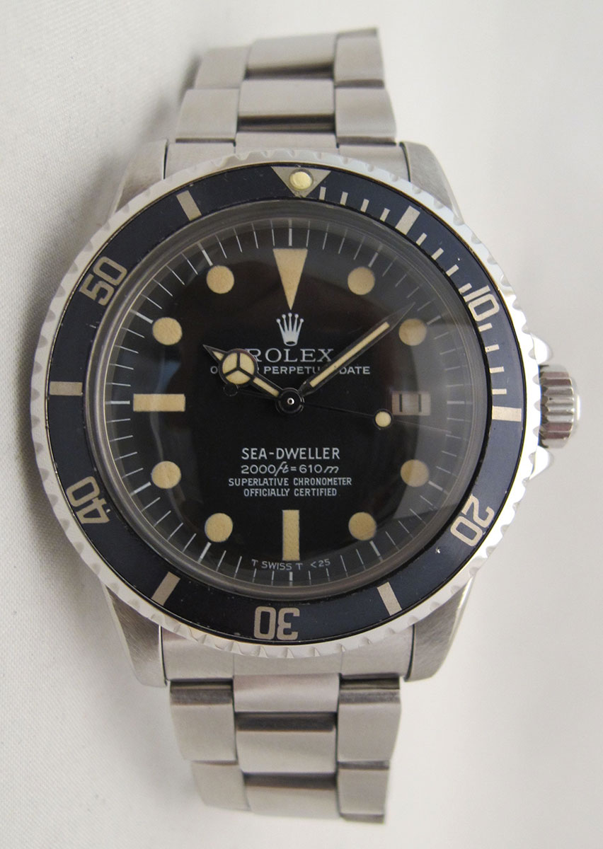 ROLEX Sea-Dweller 1665 Great White - Rail Dial.