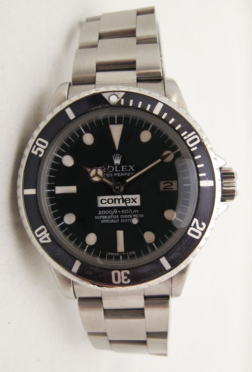 ROLEX Sea-Dweller 1665 COMEX - Rail Dial.