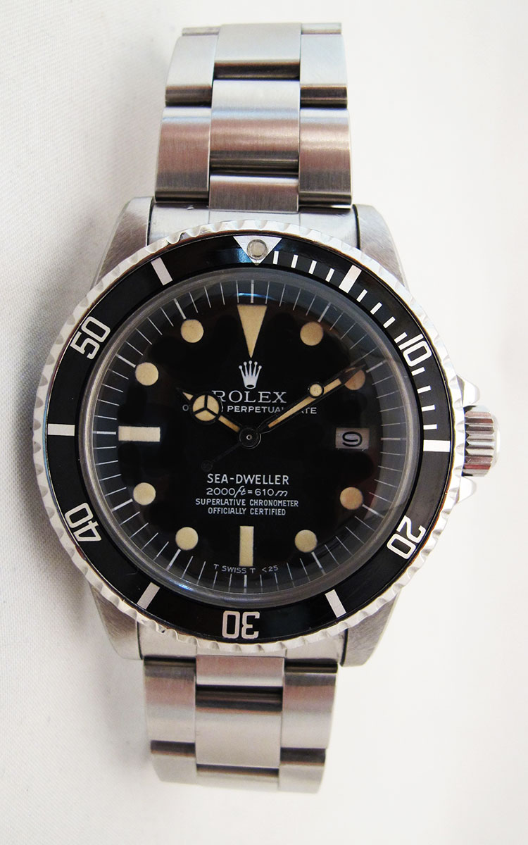ROLEX Sea-Dweller 1665 - Rail Dial.