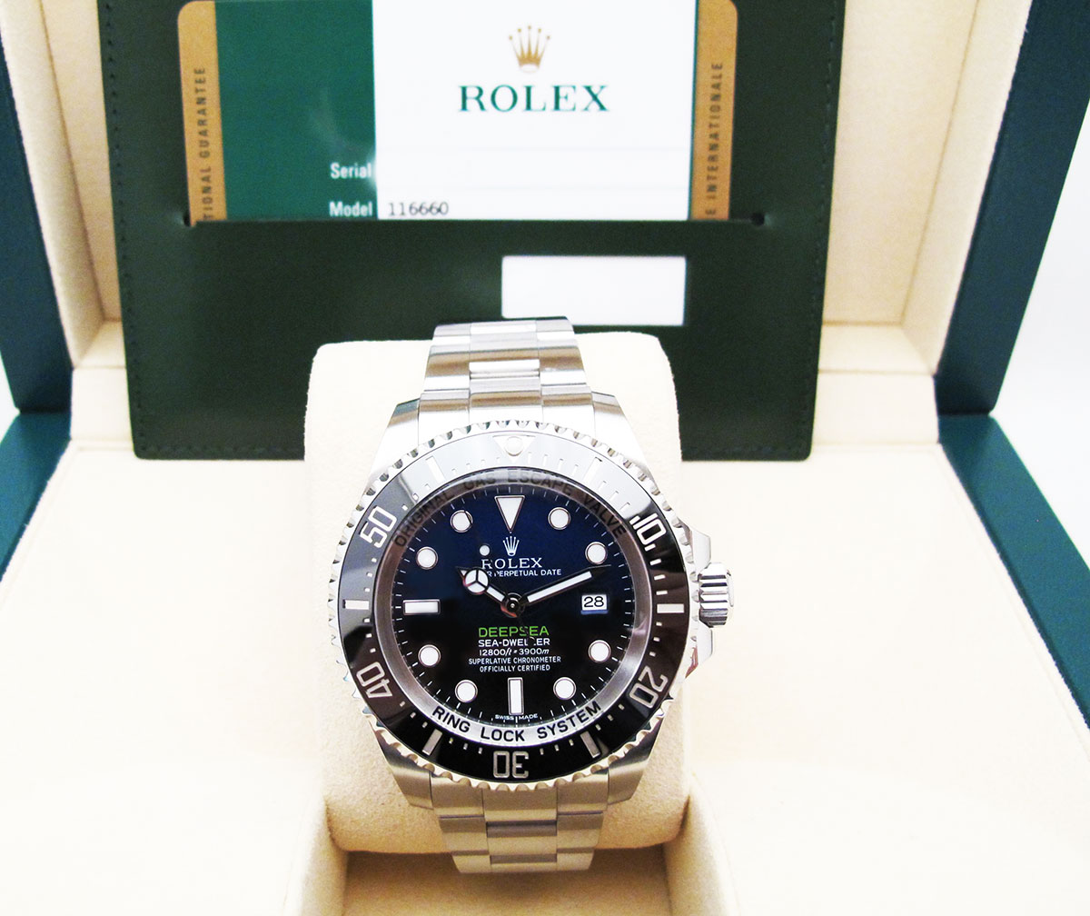 ROLEX Sea-Dweller DEEPSEA D-BLUE - James CAMERON.