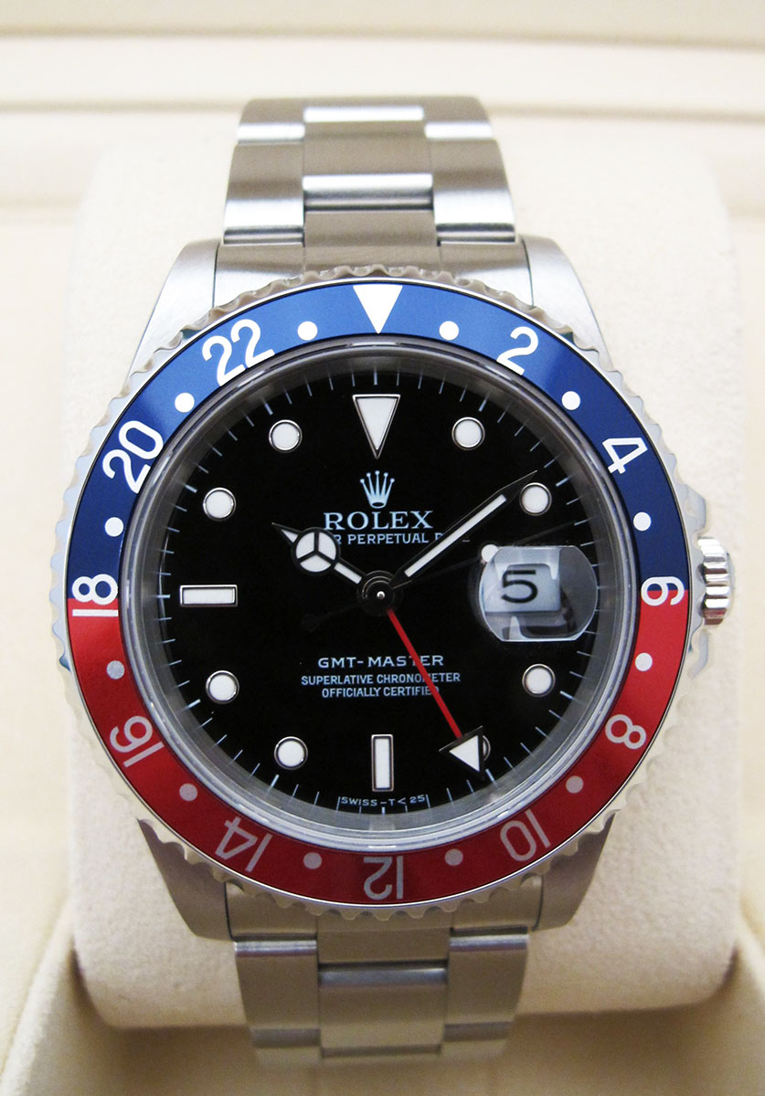 "ROLEX GMT Master 16700 "" Pepsi "" - Full Set."