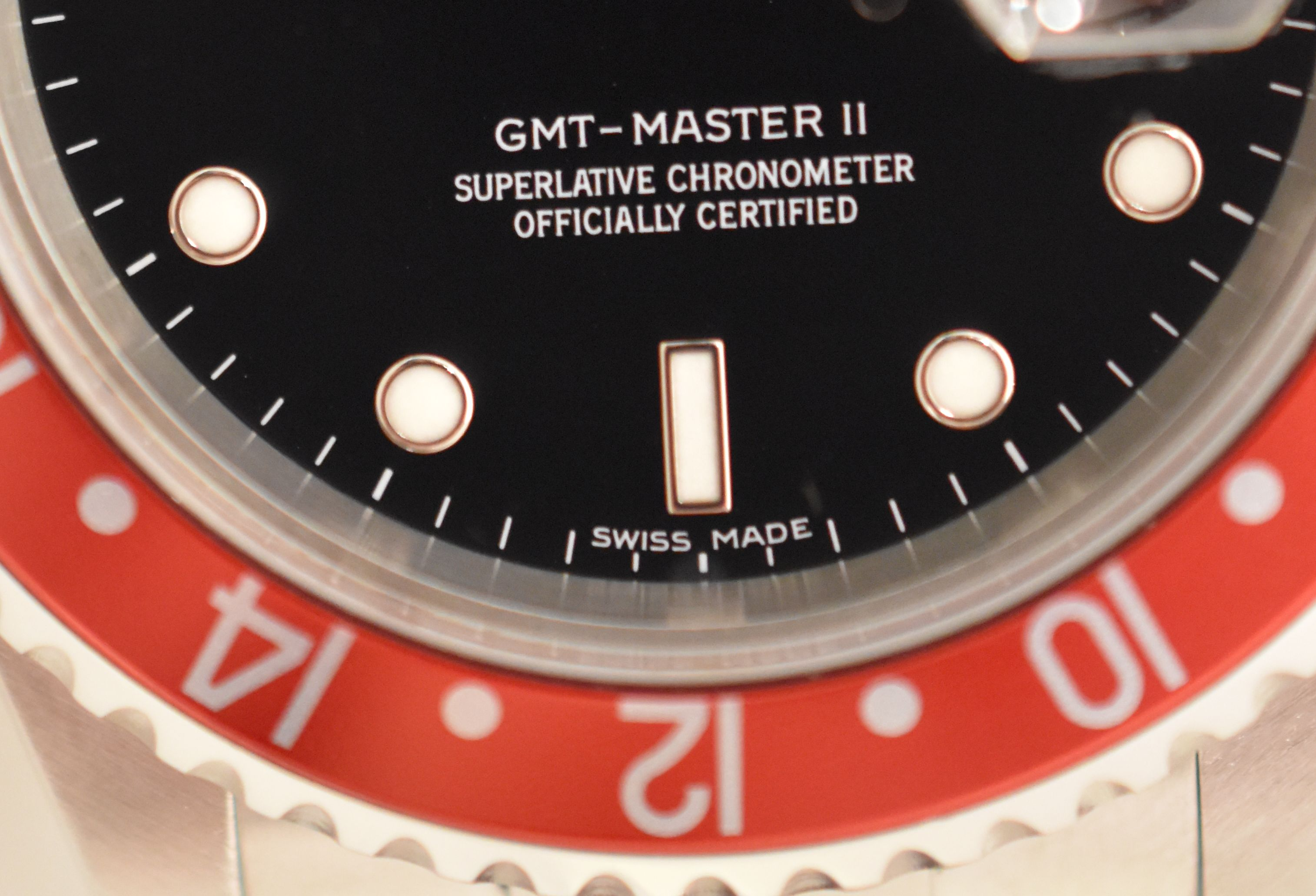 ROLEX GMT Master II 16710 - Stick Dial.
