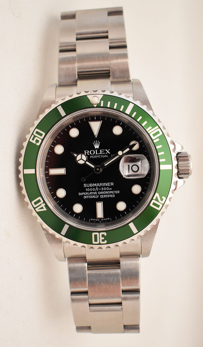 ROLEX Submariner Verte 16610 LV - Mark IV.