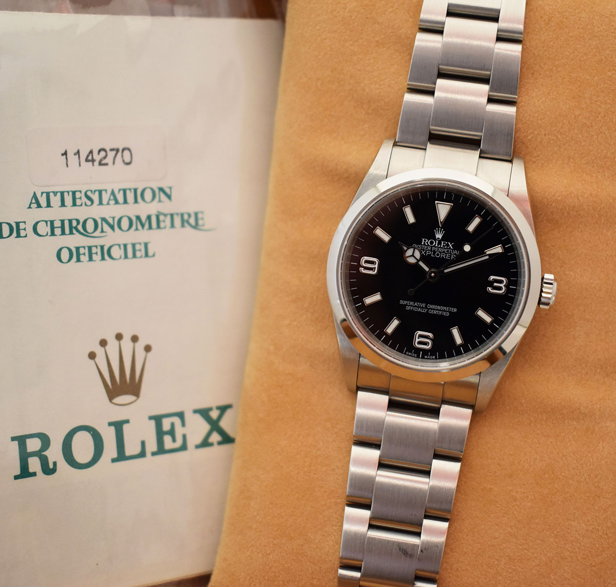 ROLEX Explorer 1 36MM - Full Set.