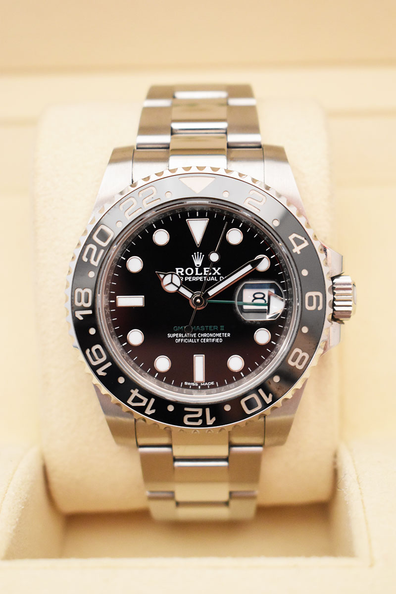 ROLEX GMT Master II 116710LN - Full Set.