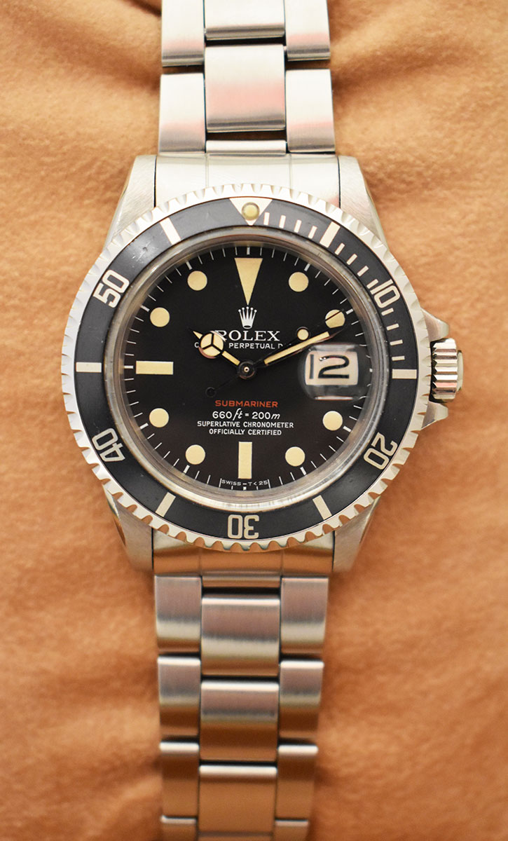 ROLEX Submariner 1680 Red - Mark V.