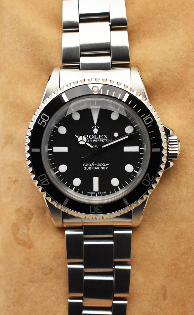 ROLEX Submariner 5513 Maxi Dial Mark I - Full Set.