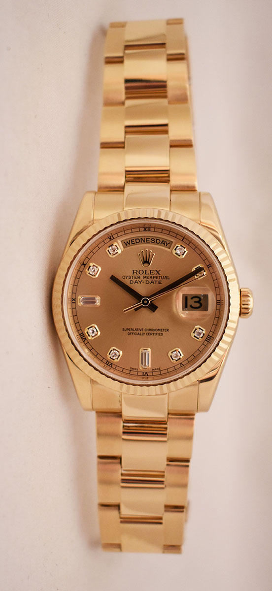 ROLEX Oyster Perpetual Day-Date - Année 2007.