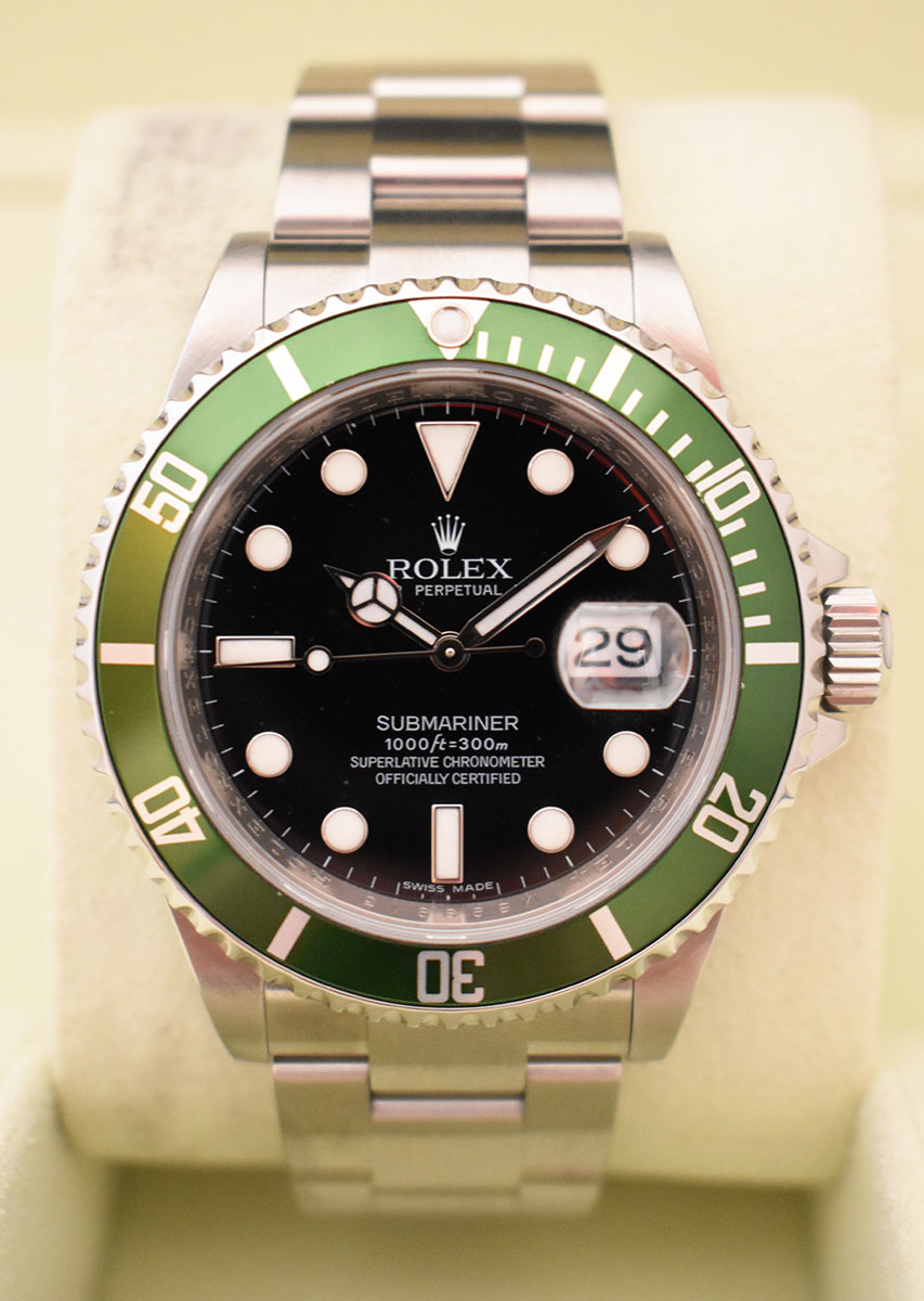 ROLEX Submariner Verte 16610LV - Mark V.