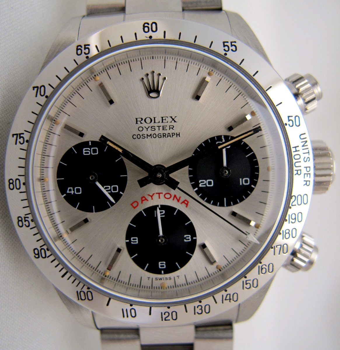 ROLEX Cosmograph DAYTONA 6265 Floating Big Red Full Set - 20/20.