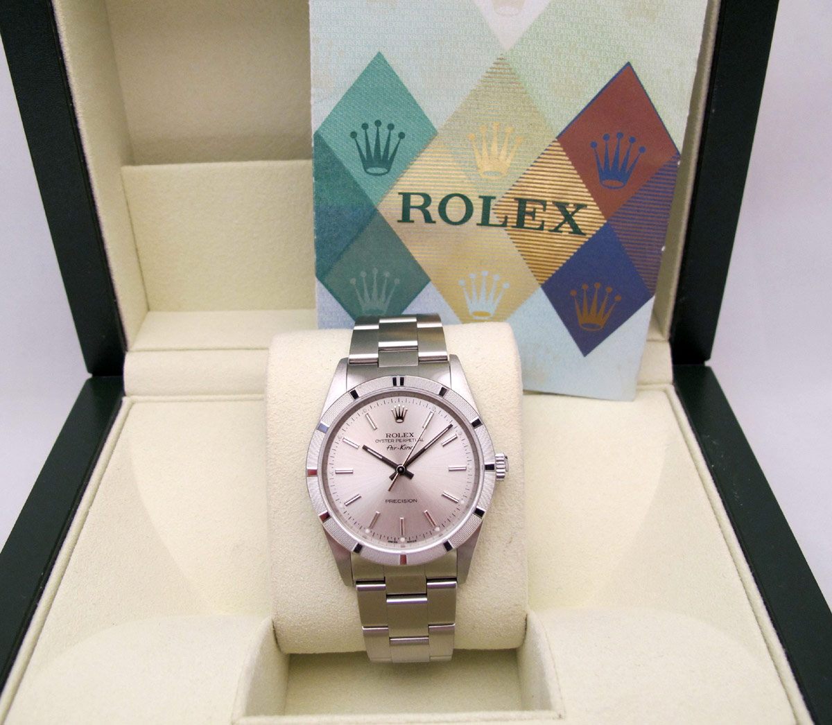 ROLEX Oyster Perptual Air-King - Cadran silver -
