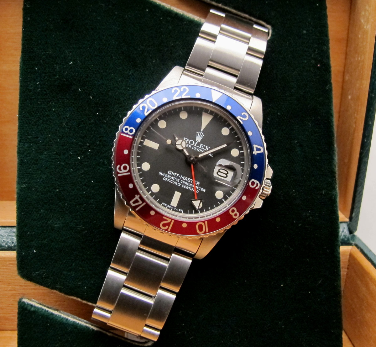 ROLEX GMT Master 16750 - Full Set -