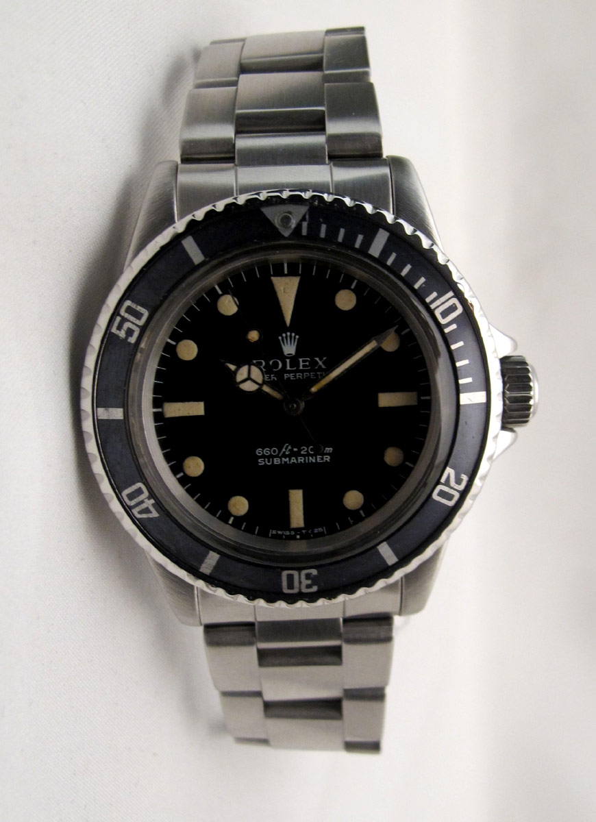 ROLEX Submariner 5513 - Full Set.