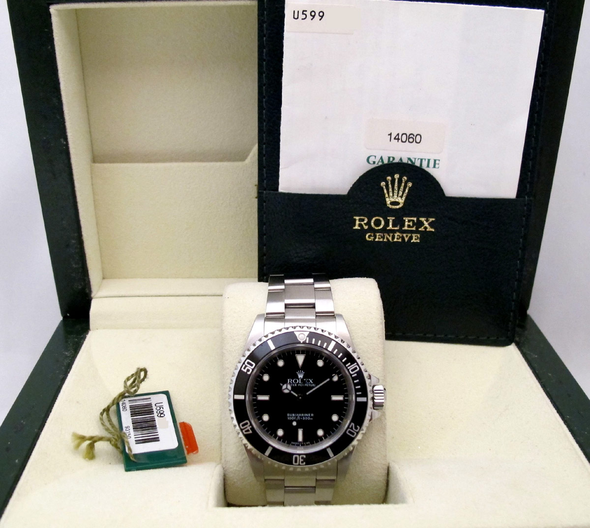 ROLEX Submariner Tritium -