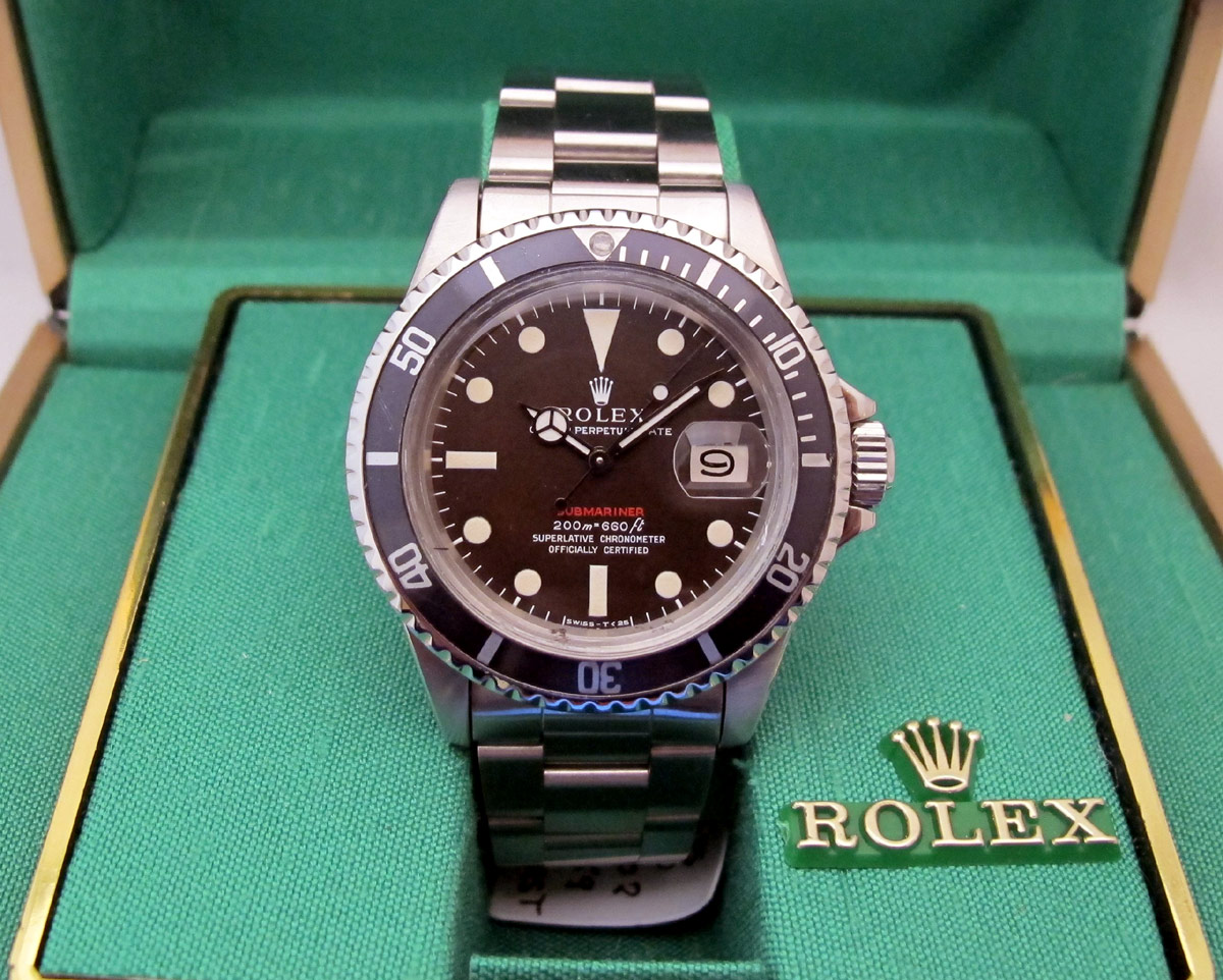 ROLEX Submariner Rouge Meters First Chocolat -