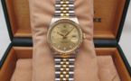 ROLEX Oyster Perpetual DATEJUST Or / Acier - Full Set.