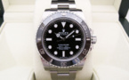 ROLEX Submariner 114060 - Lunette Céramique.